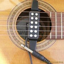 Chitarra acustica/classica SUONO Pick-up in ceramica foro nylon o acciaio Stringhe Nuovo