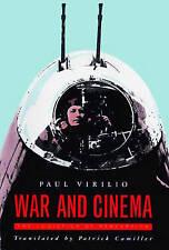 WAR AND CINEMA: LOGISTICS OF PERCEPTION, Paul Virilio * camera film laser intel