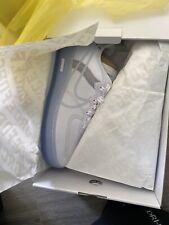 Nike Air Force 1 React White Ice / Light Bone QS CQ8879-100 Sz. 10.5 New Rare DS