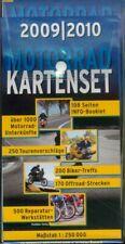 Motorrad Kartenset 2009 / 2010, Deutschland & Alpenländer