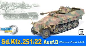 dragon armor 1/72, !!! Extra Rare !!! German Sd.Kfz.251/22 Ausf.D, Art.: 60489