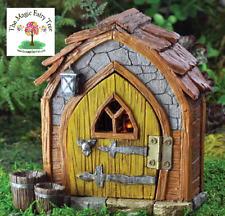 Fiddlehead Fairy Garden Fairy Gnome Foyer Opening Door House