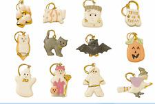 Lenox Halloween Trick Or Treat 12 Miniature Tree Ornaments