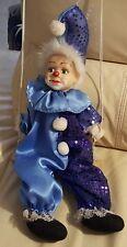 Marionnette Clown Ancienne