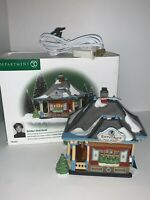 Dept 56 Heritage Village Collection DOROTHY'S SKATE RENTAL Christmas in the City