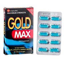 GOLD MAX Blue Aphrodisiaque Pour Homme - 10 Gélules - puissant aphrodisiaque