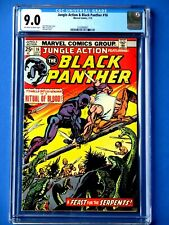 Jungle Action #16 - Featuring Black Panther - CGC 9.0