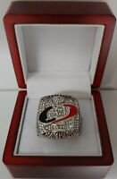 Aaron Ward - 2006 Carolina Hurricanes Stanley Cup Hockey Ring WITH Wooden Box