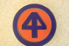 US USA Army 44th Infantry Division Military Hat Lapel Pin