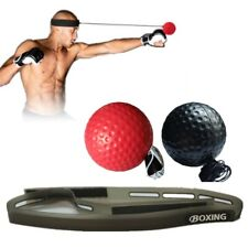 Boxing Fight Exercise Ball Head Band Speed Training Reflex Reaction Gym Ca Kit