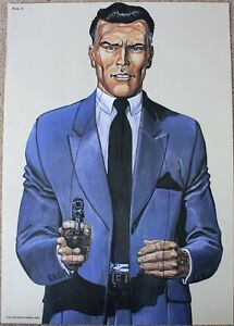 Vintage Police Law Enforcement Shooting Target Poster as seen on Salvage Hunters
