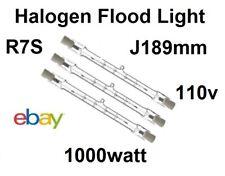 R7 Tungsten Halogen Linear Security Floodlight Tube Bulbs J189mm  1000watt 110v