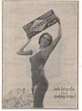 Pubblicità vintage SELOCHROME FILM FOTO PHOTO advert reklame werbung publicitè