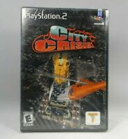 City Crisis (Sony PlayStation 2, 2001) FACTORY SEALED ! Free SHIPPING !