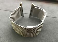 Original Apple Watch Milanese Loop 42mm/44mm Stainless Steel - Silver 90%New