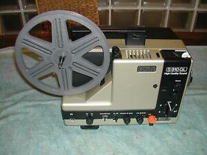 Projecteur de film EUMIG S 910 GL / Super 8 mm