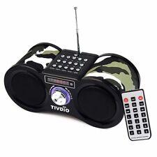 Radio Stéréo Numérique Radio Récepteur Haut-Parleur USB disque TF Carte MP3