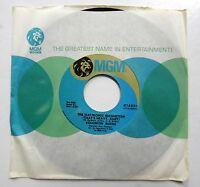 SOLOMON BURKE 45 Electric Magnetism / Bridge of Life MGM Near-MINT soul