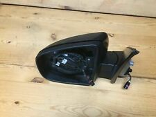 BMW OEM X5 E70 07-13 FRONT LEFT DRIVER SIDE VIEW DOOR MIRROR WITH CAMERA BLUE