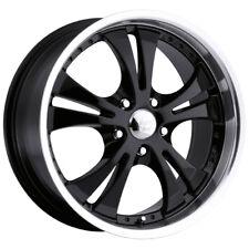 "17"" Inch Vision 539 Shockwave 17x7 5x114.3 +42mm Gloss Black Wheel Rim"