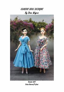 SEWING PATTERN-Style 147 Designer Inspired Dress Gene Tyler