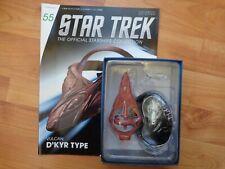 STAR TREK EAGLEMOSS STARSHIPS COLLECTION #55 VULCAN D'KYR TYPE SHIP