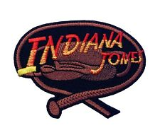 """Indiana Jones Patch (3"""") Embroidered Badge Costume Whip & Hat Cosplay Applique"""