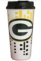 Brand New Green Bay Packers Hype Travel Mug Coffee Cup 32 Ounces NFL Tumbler