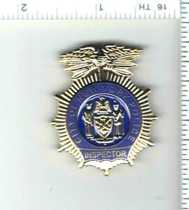 Police Inspector's 1-Inch Novelty Pin