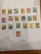 ruanda urundi stamps Flowers Complete Set