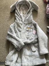 Baby Girl Disney Dressing Gown Dumbo 6-9 Months