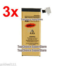 NEW 3x High Capacity 2680mAh Replacement Gold Battery for Apple iPhone 4S