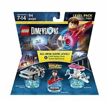 Back to the Future Level Pack - Lego Dimensions Back to the Future Level Pack