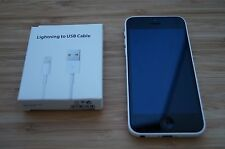 8/10 VERY GOOD CONDApple  iPhone 5c - 16GB - White AUS STOCK