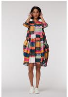 🥕🌽🥕🌽[New] Gorman Line Up Organic Cotton Cord  Smock Tulip Dress AUS 16/18 XL