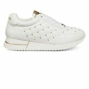 woman's Bebe Sport Barkley Lace Up Sneakers 8 white