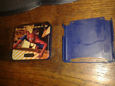 * Nintendo GameBoy Advance SP HARD SHELL CASE - BLUE - SPIDERMAN 2  * NEW RARE