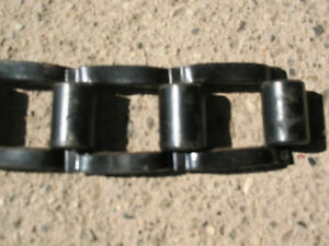 #55 Flat Detachable Link Steel Chain for Drills Planters Corn Pickers 1 Foot