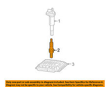 BMW OEM 10-13 328i 3.0L-L6 Ignition-Spark Plug 12120037663