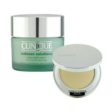 Clinique Redness Solutions Daily Relief Cream + Relief Mineral Pressed Powder