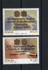 5970 ) Italy 2005 **/MNH -    The concordat from the Vatican and Italy