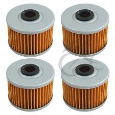 4 PCS Oil Filters For Honda CBR250R GB500 NX250 XL250 XL250R XL350R XR400R New