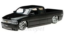 JADA 63112 2002 02 CHEVROLET SILVERADO PICK UP TRUCK 1/18 BLACK
