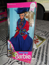 DOLLS OF THE WORLD ( ENGLISH ) BARBIE 1991 FOR THE ADULT COLLECTOR SPEC EDITION