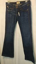 Frankie B. women's jeans,size 2   (29 1/2.) In Seam wash,Boot-cut,faded style