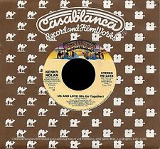 """KENNY NOLAN """"US AND LOVE/You're So Beautiful To..."""" CASABLANCA 2234 (1980) 45rpm"""