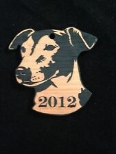 Personalized Jack Russell Wooden Christmas Ornament (FREE SHIPPING)