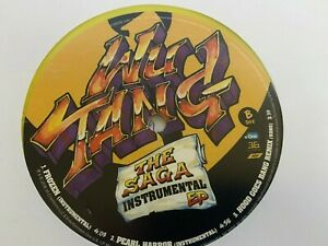 WU TANG SAGA INSTRUMENTAL EP (YELLOW VINYL) E-One MUSIC