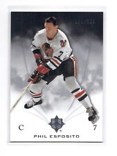 10-11 2010-11 ULTIMATE COLLECTION PHIL ESPOSITO BASE /399 13 CHICAGO BLACKHAWKS