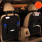 hot Black Auto Car Seat Back Multi-Pocket Storage Bag Organizer Holder Accessory